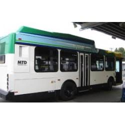 30x166 Inch Exterior Bus Ad